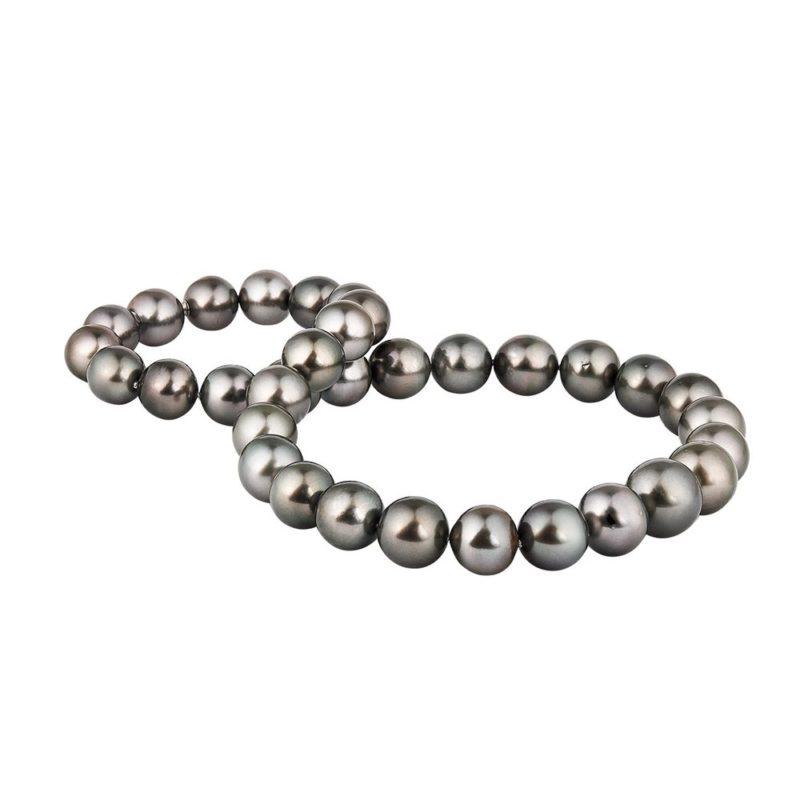 Kónická perlová šňůra s neviditelným zapínáním KLENOTA