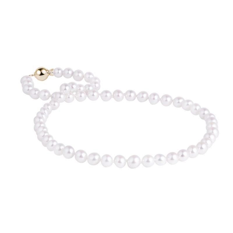 Perlový náhrdelník Akoya KLENOTA