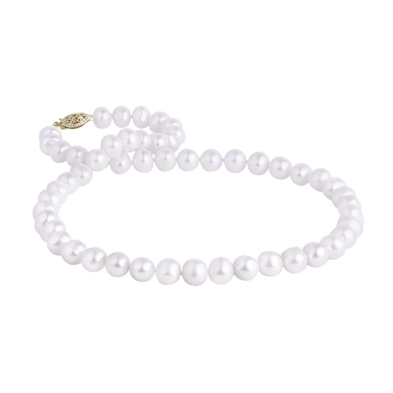 Zlatý perlový náhrdelník KLENOTA
